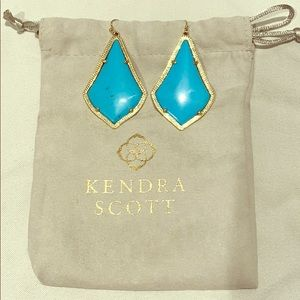 Turquoise Kendra Scott Earrings